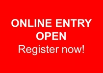Online entry open!