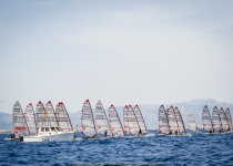 Day one at the ACO 8th MUSTO Skiff World Championship 2017